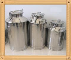 Stainless steel 304 milk bucket 25L