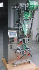 Granular material packing machine, powder packing