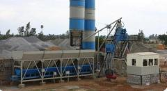 Cheap stationary concrete batching plant