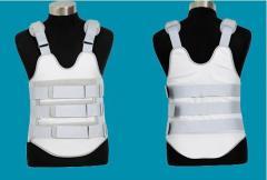 Thoracolumbar corsets