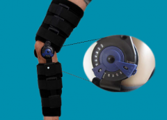 Регулируемый фиксатор для лечения коленного  сустава L045