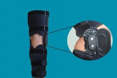 Регулируемый Фиксатор для  колена LJ046