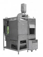 Dust precipitators, electrostatic ionizers