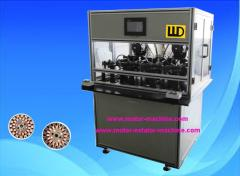 4 stations stator winding machine for ceiling fan
