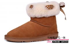 Женские овчинные снеговые сапоги 2