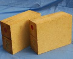 Dense alumina and fireclay refractory Brick