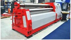 W12 4 rollers hydraulic plate rolls
