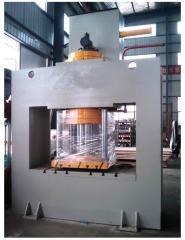 Machine presses