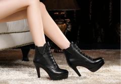 Женские ботинки / женская кожаная обувь