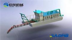 6-дюймовый земснаряд с гидроразмывом Julong
