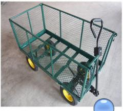 Carts for hothouse market-gardening