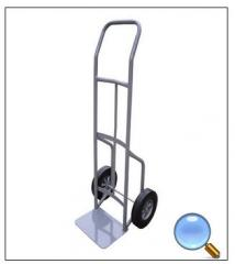 Metal hand trolleys