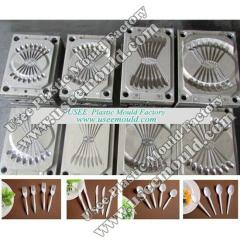 Spoon mold, fork mould, knife mold, cutlery mould