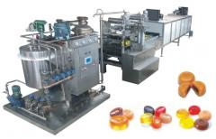 Lines for manufacture sugar candy caramel