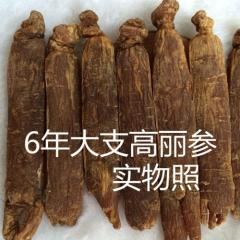 Korea Radix Ginseng,6 years old ginseng root sex