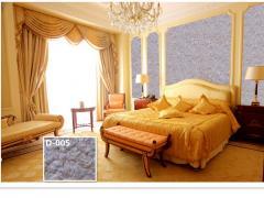 Наиболее популярны для DIY внутри стены декор стен покрытия из жидких обоев YISENNI