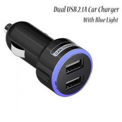 Universal Mini Dual USB Port 5V 2.1A Car Charger