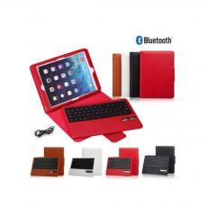 Removable Bluetooth Keyboard With Leather cover