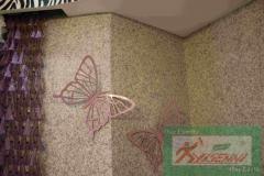 YISENNI волокна настенных покрытий с огнем упорного Функция Лучший для украшения дома