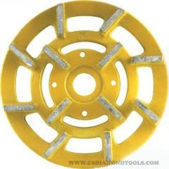 China Diamond Grinding Head, Metal Bonded Diamond Grinding Disc Manufacturers