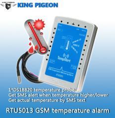 GSM SMS Temperature Monitoring Alarm