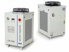 特域水循环制冷机用于CO2激光光纤电脑绣花机