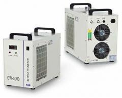 S&A冷水机用于UV紫外线照射灯冷却