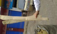 Whole Natural raw Loofah