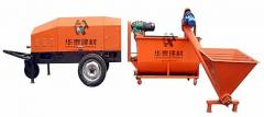 Machines and stations for heating up concrete