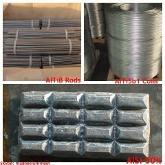 Grain Refiner Aluminium Silicon Master Alloy