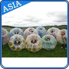 Bumper ball Half Color Bubble Soccer Balls