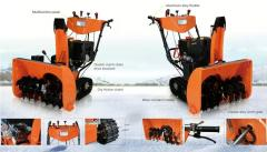 Snow Sweeper for two useages.