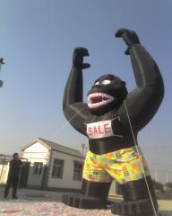 20' Inflatable Black Gorilla w/blower
