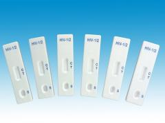 Medical diagnostic hiv rapid test