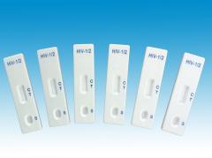 Medical diagnostic hiv rapid test