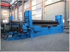 Universal upper roller plate rolling machine with