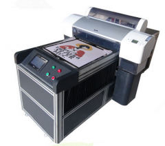 A2 Size with 8 Colors DTG T-Shirt Printer