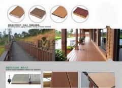 WPC Piso de madera y plastico compuesto, CE, SGS y