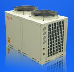 Cooled heat pump - Central heating ventilation and air conditioning (HVAC) systems