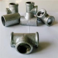 Plumbing connector/malleable cast iron pipe
