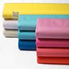 100% cotton bleached/dyed shirting fabric