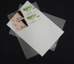 Smart card material , Plastic cards sheet , laser