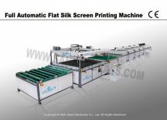 Glass Silk Screen Printing Machine Line