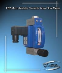 Micro-Metallic Variable Area Flow Meter