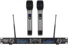 超高频U段DPLL真分集无线麦克风HK-9800