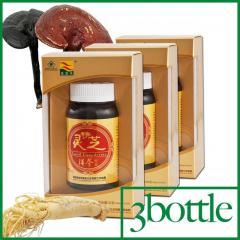 3 bottle*100capsule Ginseng Ganoderma Capsule/