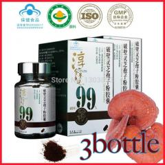 Wholesale 3 bottle Organic Ganoderma chinese herbs