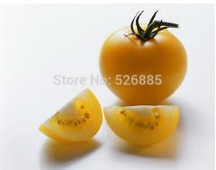 Free shipping  pearl yellow Tomato, sweet  tomato