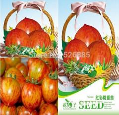 Free shipping red color peach tomato, Tomato