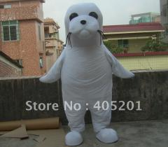 White seal mascot costumes seal costumes
